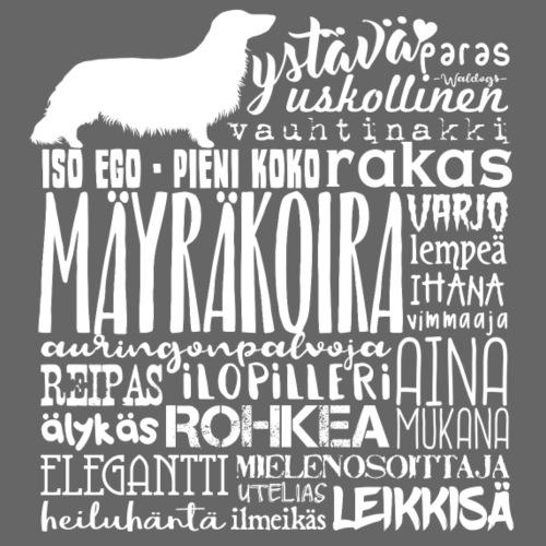 Mäyräkoira PK Sanat 2 - Miesten premium t-paita