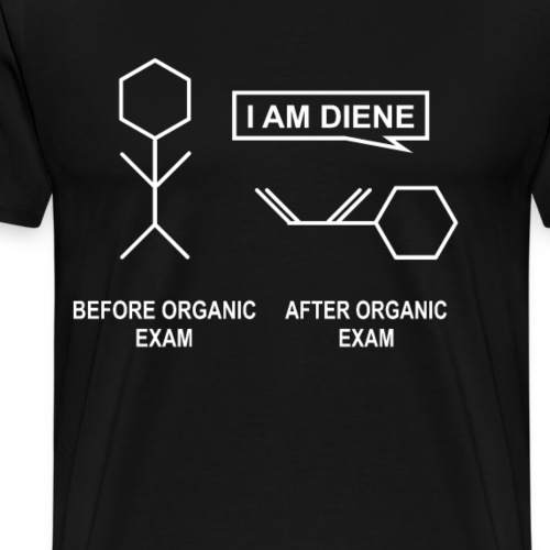 Before and After Organic Chemistry - Männer Premium T-Shirt
