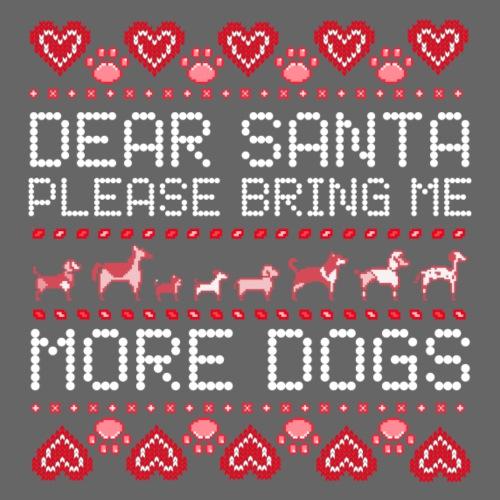 Dear Santa - Miesten premium t-paita