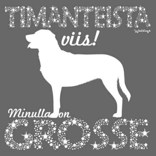 Grosse Timantti - Miesten premium t-paita