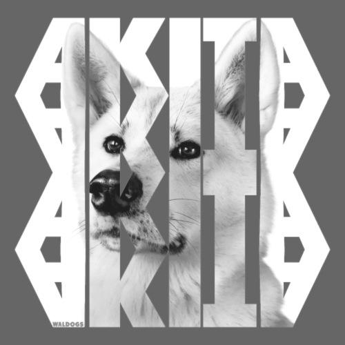 Akita NASSU V - Miesten premium t-paita