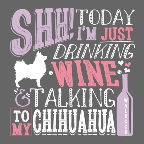 SHH Chihu Wine 004 - Miesten premium t-paita