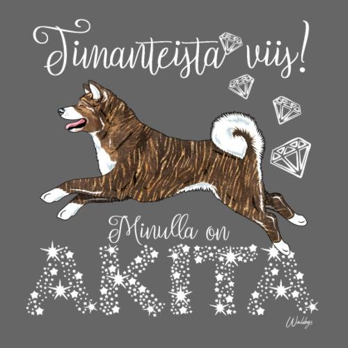 Akita Dimangi I - Miesten premium t-paita