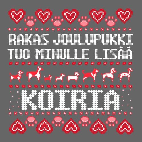 Rakas Joulupukki - Miesten premium t-paita