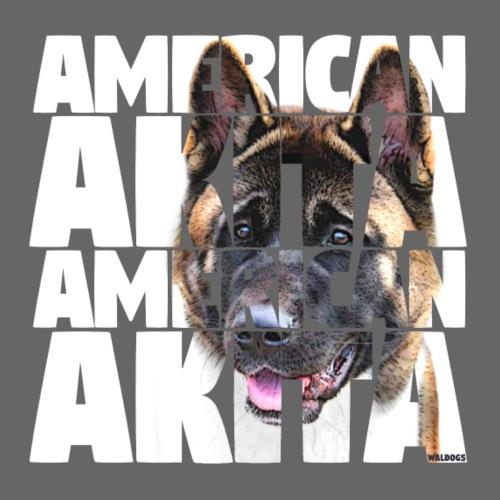 American Akita W - Miesten premium t-paita