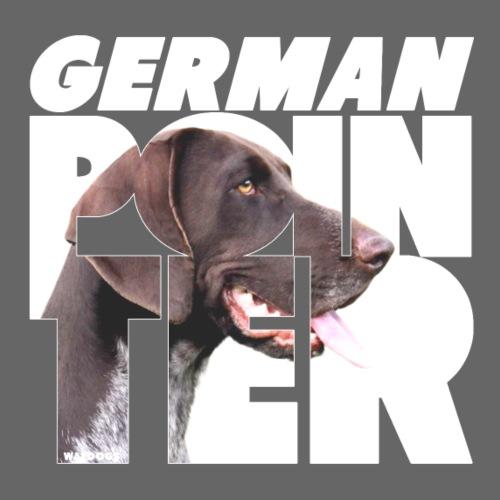 German Pointer VI - Miesten premium t-paita