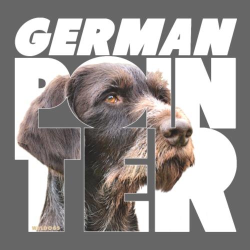 German Pointer VII - Miesten premium t-paita