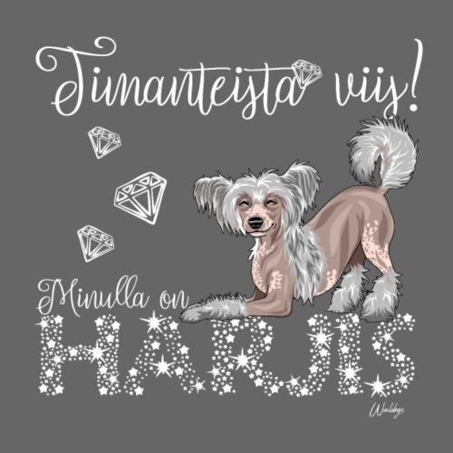 Harjis Dimangi II - Miesten premium t-paita