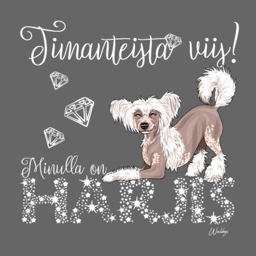 Harjis Dimangi I - Miesten premium t-paita