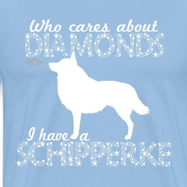 Schipperke Diamonds I