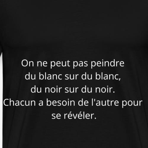 Proverbe n°2 - T-shirt Premium Homme