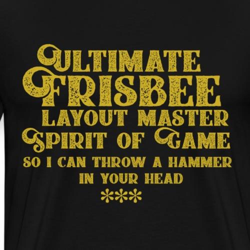 Ultimate Lettering - Camiseta premium hombre