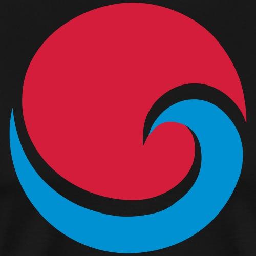 Sonne Welle Strand Meer Surfen Urlaub Reisen - Männer Premium T-Shirt