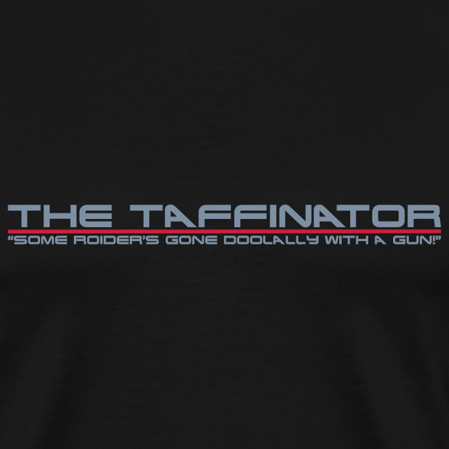 taffinator white red 2