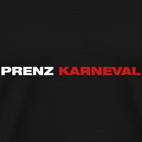 Prenz Karneval - Männer Premium T-Shirt