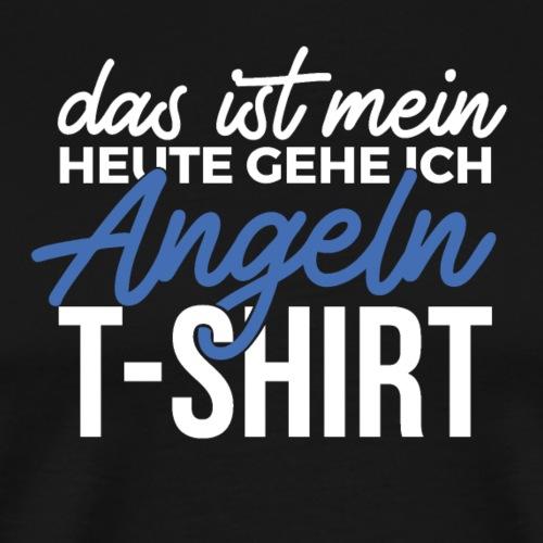Mein Angel T-Shirt (Weiß / Blau) - Männer Premium T-Shirt