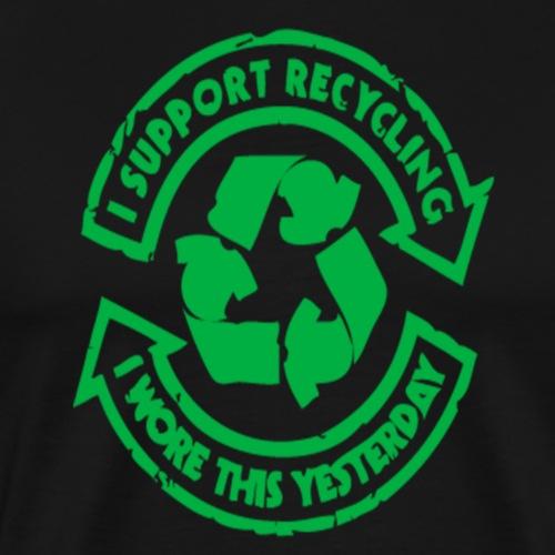 Reciclyng Power - Camiseta premium hombre