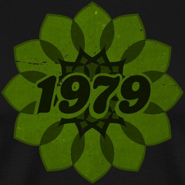 1979 retro flower