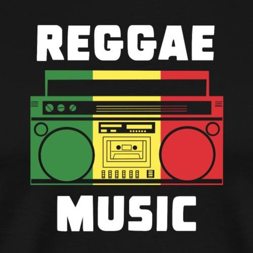 REGGAE MUSIC - Männer Premium T-Shirt