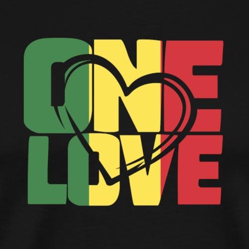 ONE LOVE - Männer Premium T-Shirt