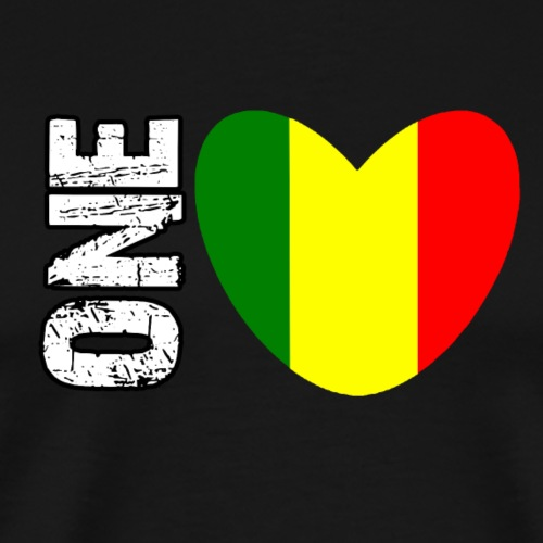 REGGAE - ONE LOVE - Männer Premium T-Shirt