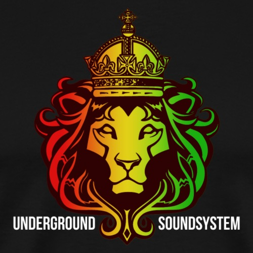 Imperial Sound Lion - Männer Premium T-Shirt