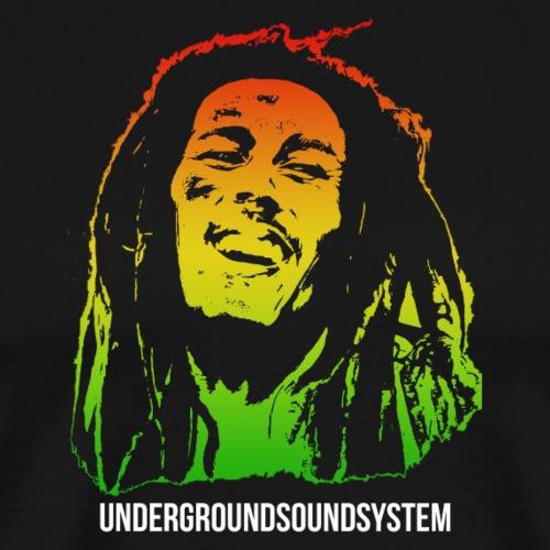 King of Reggae - Männer Premium T-Shirt