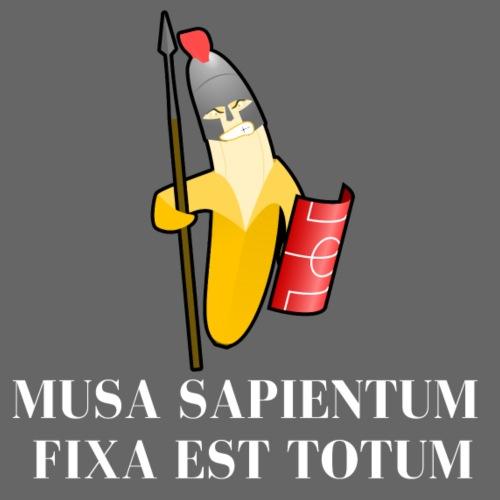 Musa sapientum fixa est Totum - Alles Banane - Männer Premium T-Shirt