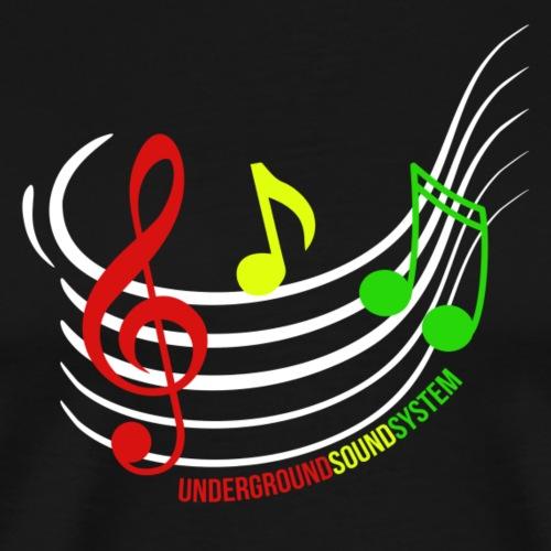 Reggae Grades - Männer Premium T-Shirt