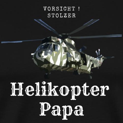 Stolzer Helikopterpapa - Männer Premium T-Shirt