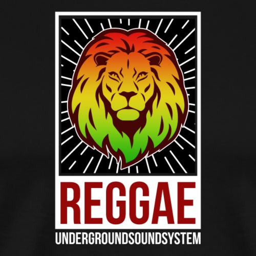 Reggae Lion of Judah - Männer Premium T-Shirt