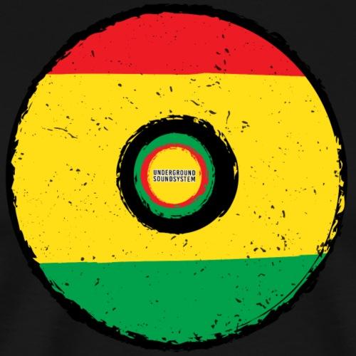 Reggae Plate - Männer Premium T-Shirt