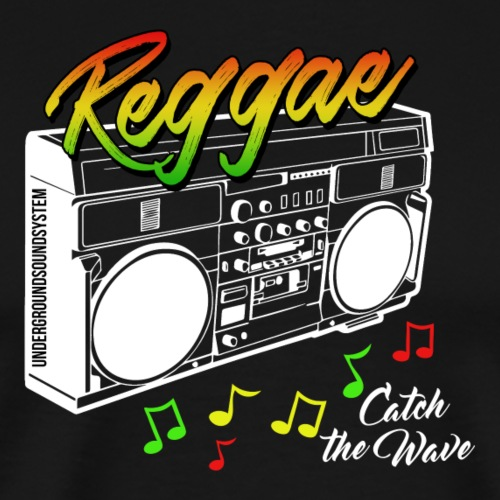 Reggae - Catch the Wave - Männer Premium T-Shirt