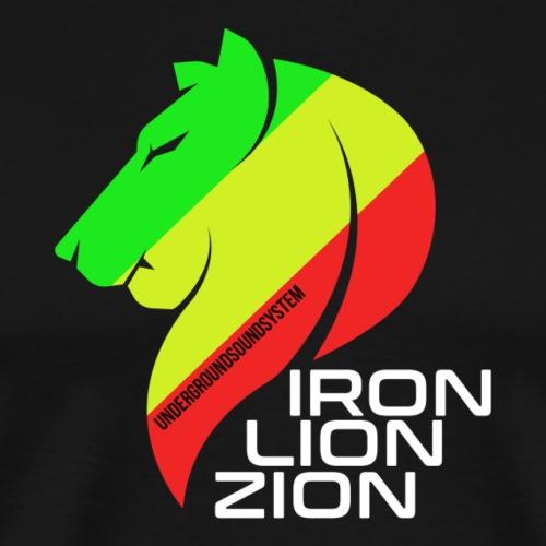 IRON LION ZION - Männer Premium T-Shirt