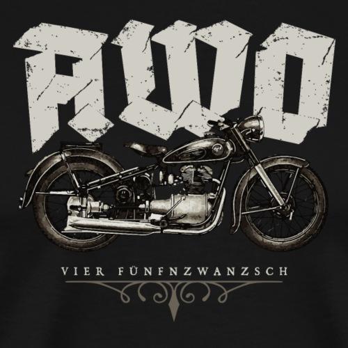 Motorrad DDR Chopper AWO 425 Touren AWO - Männer Premium T-Shirt