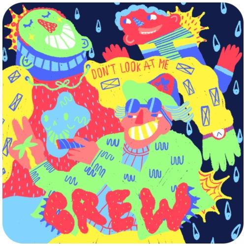 CREW Character design - T-shirt Premium Homme