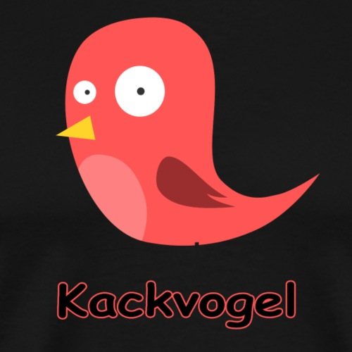 Kackvogel - Männer Premium T-Shirt
