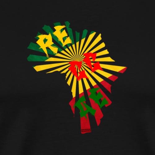 Reggae Africa - Männer Premium T-Shirt