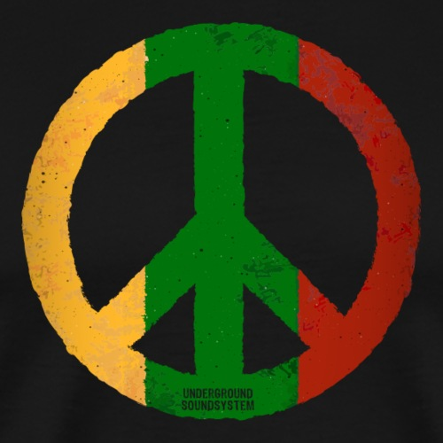PEACE REGGAE - Männer Premium T-Shirt