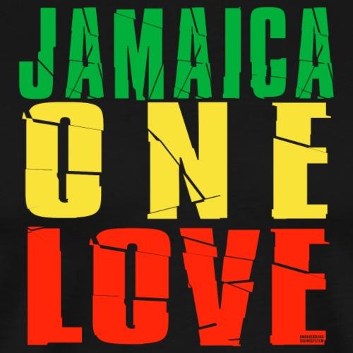 JAMAICA ONE LOVE - Männer Premium T-Shirt