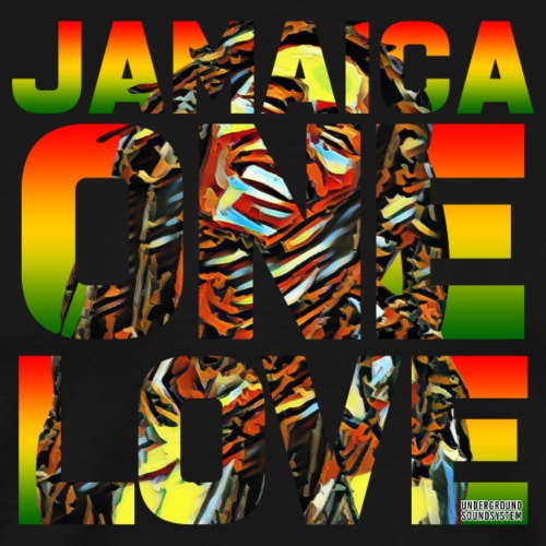JAMAICA ONE LOVE - Männer Premium T-Shirt