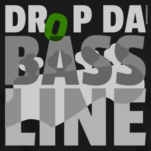 Drop da Bass Line 2 - Männer Premium T-Shirt