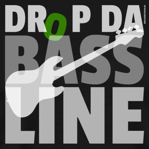 Drop da Bass Line 1 - Männer Premium T-Shirt