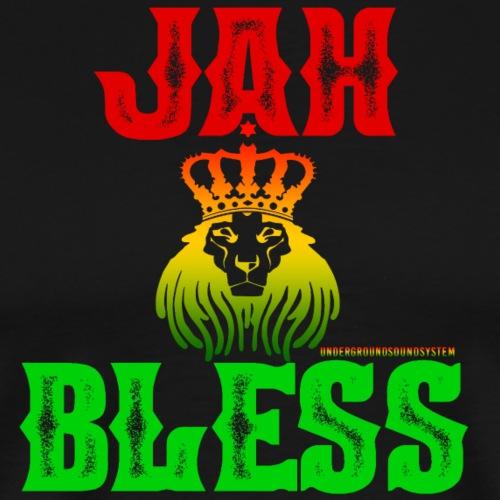 JAH BLESS RASTAFARI - Männer Premium T-Shirt