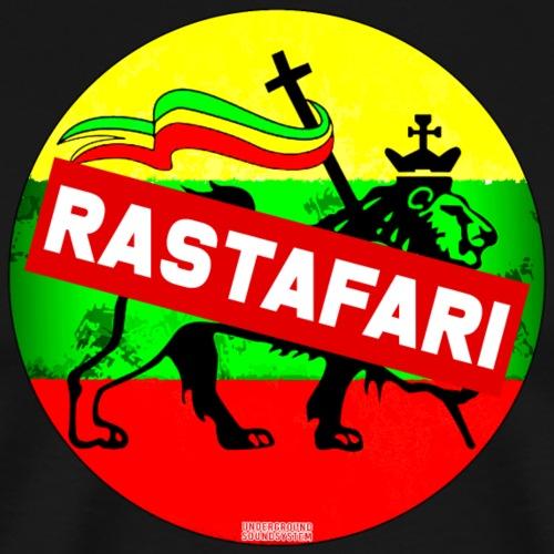 RASTAFARI BANNER - Männer Premium T-Shirt
