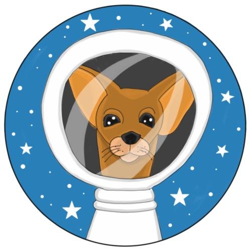 Fifi der Hunde Astronaut im Weltall - Männer Premium T-Shirt