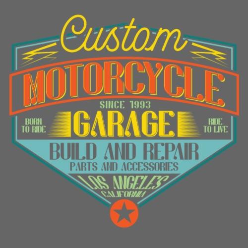 Custom Motorcycle Garage - Männer Premium T-Shirt
