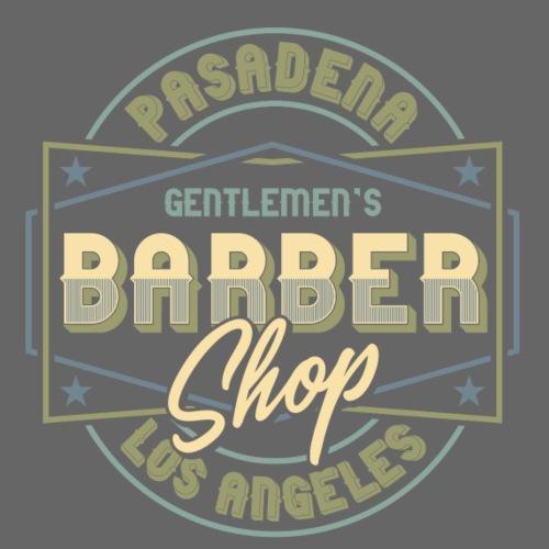 Pasadena Barber Shop - Männer Premium T-Shirt