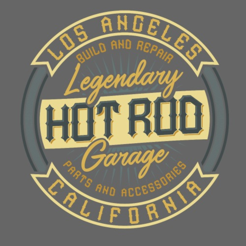 Hot Rod Garage - Männer Premium T-Shirt