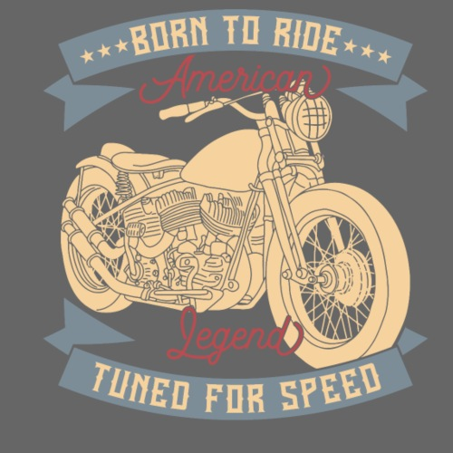 Tuned for Speed - Männer Premium T-Shirt